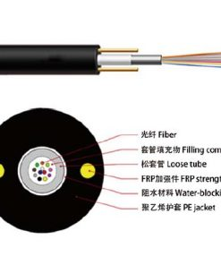 GYFTW Non-Metallic Strength member FRP Central Loose Non-Armored Fiber Optic Cable