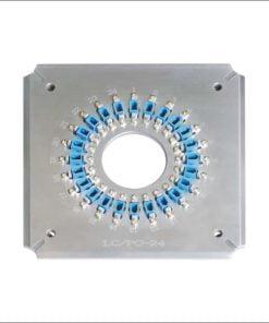 LCUPC 24-T Polishing JIG Grinding fixture Four Corner Fiber optic connector holder