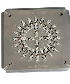 Polishing JIG Connector holding FC/UPC 24-T