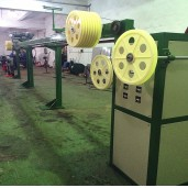 9m horizontal tension wire accumulator with precisely linear slide rail
