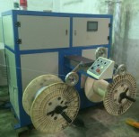 ¢400-630mm double-shaft take-up machine