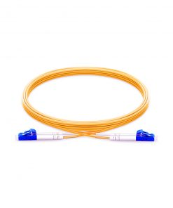 LC To LC UPC Duplex Single Mode OS2 9/125 Fiber Patch Cord