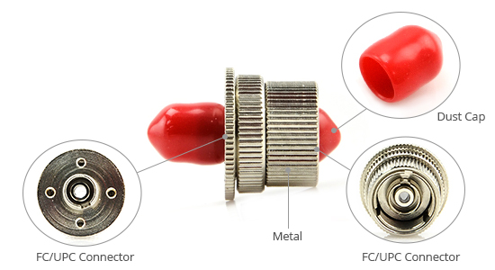 FC Variable Fiber Optic Attenuators UPC Female to Female