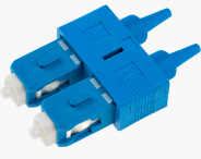 SC Duplex Connector 0.9mm Blue
