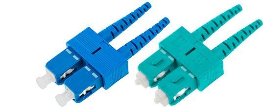 SC Duplex Connectors