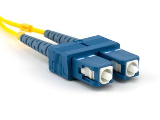 SC Duplex Fiber Optic Connector