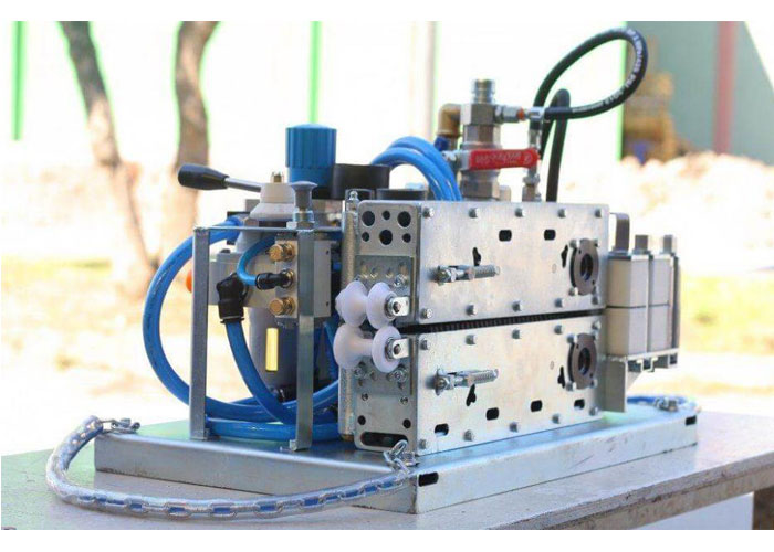 Air Blowing Fiber Optical Cable Machine