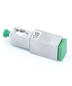 SC/APC Fiber optic Attenuator, Male to Female, 1~25dB