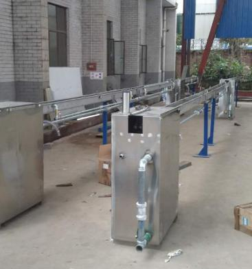 fixed type cooling water trough and cooling water tank