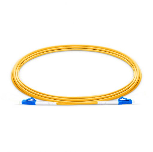 LC To LC UPC Simplex Single Mode OS2 9 125 Fiber Patch Cable