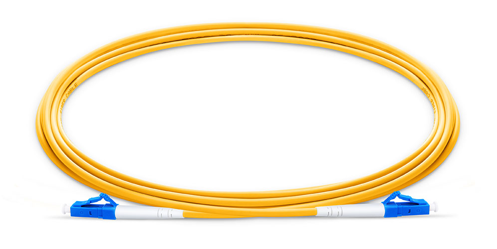 LC To LC UPC Simplex Single Mode OS2 9 125 Fiber Patch Cord