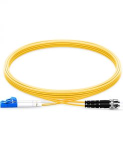 LC To ST UPC Duplex Single Mode OS2 9 125 Fiber Patch Cable