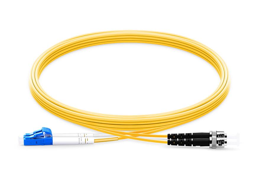 LC To ST UPC Duplex Single Mode OS2 9 125 Fiber Patch Cord