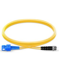 SC To ST UPC Duplex Single Mode OS2 9 125 Fiber Patch cable