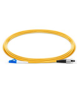 LC To FC UPC Simplex Single Mode OS2 9 125 Fiber Patch Cord