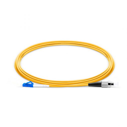 LC To FC UPC Simplex Single Mode OS2 9 125 Fiber Patch Cord