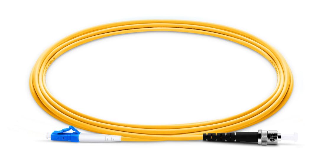 LC To ST UPC Simplex Single Mode OS2 9 125 Fiber Patch Cord