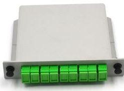 1X8 LGX Cassette Type Fiber Optic Splitter