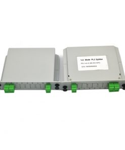 1X2 LGX Cassette Type Fiber Optic Splitter