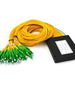 1X64 Fiber Optic PLC Splitter ABS Module 2.0mm SC /APC