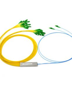 2x32 Fiber Mini Module Splitter 0.9mm G657A Fiber LC/APC