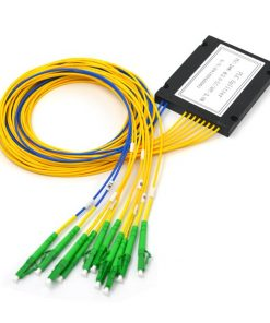 2x8 Fiber Optic Splitter ABS Module 2.0mmwith LC/APC Connectors