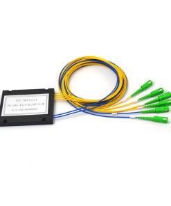 2x4 Fiber Optic PLC Splitter ABS Module 2.0mm SC APC