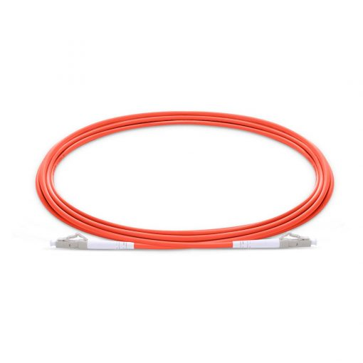 LC To LC UPC Simplex Multimode OM1 62.5/125 Fiber Patch Cord