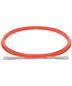 SC To SC UPC Simplex Multimode OM1 62.5/125 Fiber Patch Cord