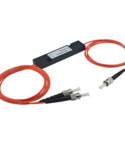 1X2 Multimode Fiber Fused Coupler Splitter 3.0Mm With ST UPC Connectors