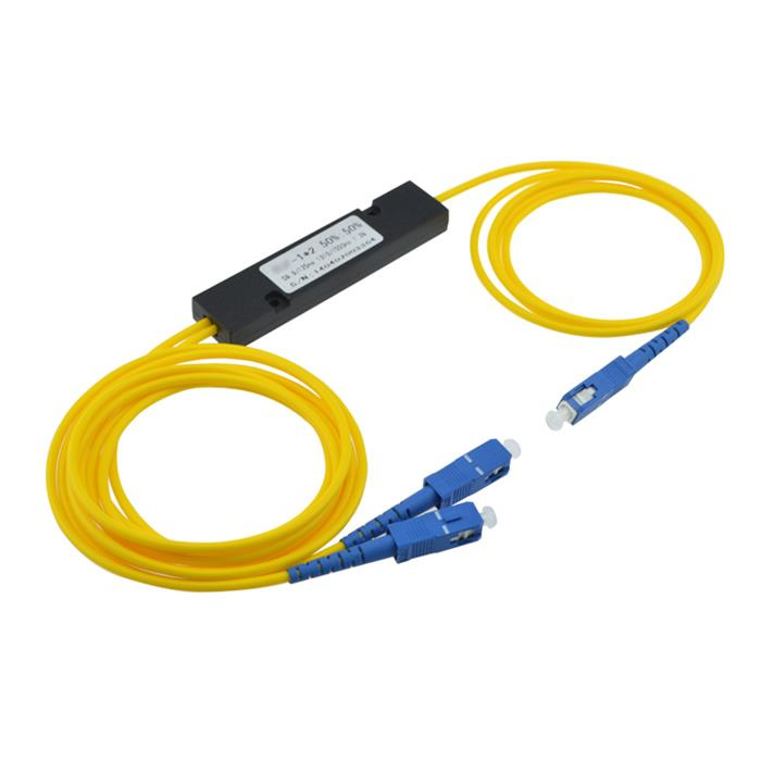 1X2 Singlemode Dual Window FBT Coupler With SC/UPC Connector,3.0Mm ABS Cassette Packing