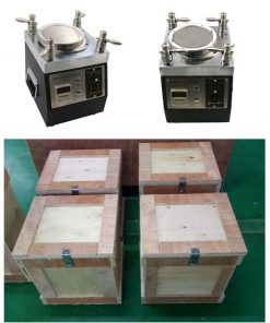 Fiber Optic Four Corner Pressure Polishing Machine