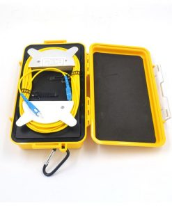 Optical OTDR Launch Cable Box Distance 2km With SC Connector