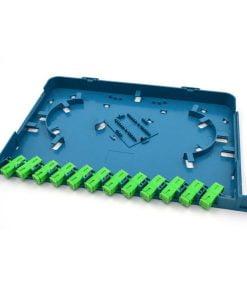 12core white splice tray for Fiber ODF or Cross Cabinet
