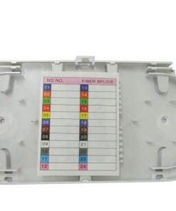 24 core white splice tray for splice closure/patch panel