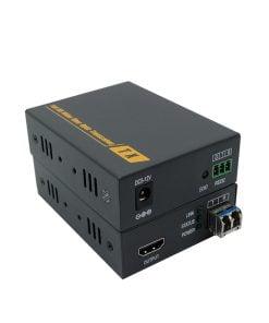 4K HDMI 3D fiber optic Extenders 4Kx2K EDID RS232