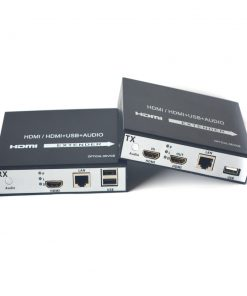 HDMI Over Cat5/6 Extender transmit 1080p with Loop Out and USB 2.0 KVM