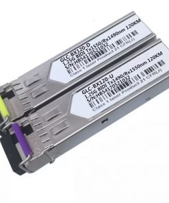 SFP 1.25G BIDI 120KM SFP Optical Transceiver Module GLC-BX120-D GLC-BX120-U