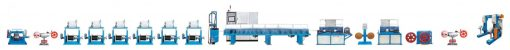 SZ LOOSE TUBE BUNCHED FIBER OPTIC PRODUCTION LINE