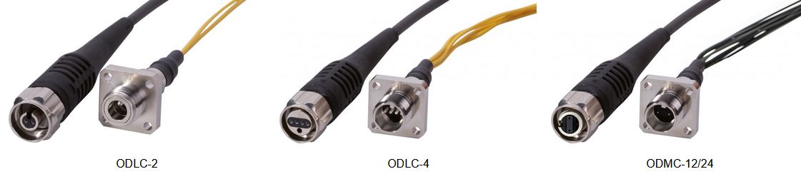 IP68 ODLC & ODMC Fiber Optic Cable Assemblies