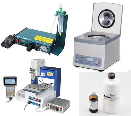 Epoxey Glue patch cord and pigtail manufacture line tools and machine